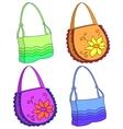 female handbags vector image vector image