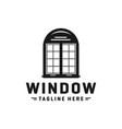 home logo window glass vector image vector image