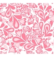 Seamless background pink splash pattern vector image vector image
