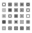 Square Ornament Set vector image vector image