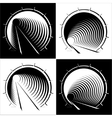 abstract images of tunnel in the mountain vector image
