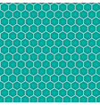 blue honeycomb seamless pattern vector image vector image