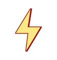 energy hazard symbol design image vector image vector image