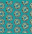 flower ornament mandala decoration background vector image