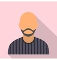 man with beard avatar icon