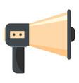 single megaphone icon cartoon style vector image