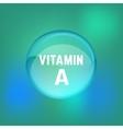 Vitamin A 02 B vector image vector image