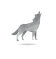 Wolf abstract isolated