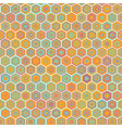 abstract colorful honeycomb seamless vector image vector image