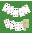 Card poker vector image vector image