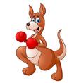 cute kangaroo vector image