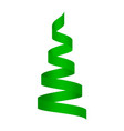 Green serpentine mockup realistic style