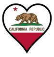 love california vector image vector image