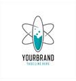 science lab logo vector image