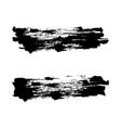 set hand drawn grunge brush vector image