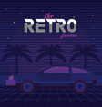 the retro forever vector image vector image