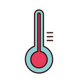 thermometer temperature equipment medical isolated vector image