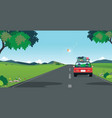 drive to travel vector image