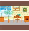 house interior vector image vector image