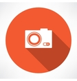 Icon camera vector image