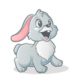 little bunny vector image vector image