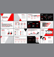 red print design templa vector image