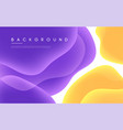 abstract minimalist background with vector image vector image