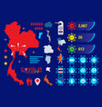 covid19-19 element icon set image vector image vector image