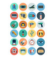 Electronics Flat Icons 5 vector image vector image