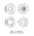 Luxury ornamental pattern vector image vector image
