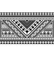 polynesian ethnic seamless long pattern vector image vector image