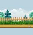 seamless countryside or garden landscape