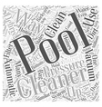 The Benefits of Owning an Automatic Pool Cleaner vector image vector image