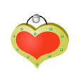 A ornament on the wall vector image vector image