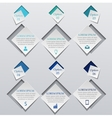 Abstract infographics concept vector image vector image