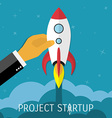 Business concept for project startup vector image