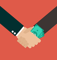 Business Corruption Handshake vector image vector image