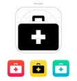 Doctor suitcase icon vector image vector image