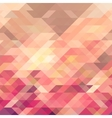 geometric background with triangles vector image vector image