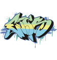 Graffito - ever vector image