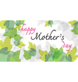 happy mother day long vector image vector image