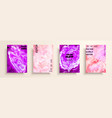 mixture of acrylic paints modern artwork trendy vector image vector image
