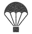 Parachute Grainy Texture Icon vector image vector image