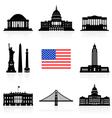 USA Travel Icon vector image