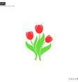 bunch flowers happy mothers day vector image vector image