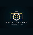 camera photography with letter initial b logo