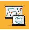 Digital Marketing designCommunication and vector image