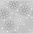 flowery pattern seamless floral background vector image