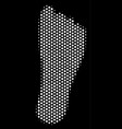 white pixelated human footprint icon vector image