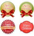 badge design set vector image